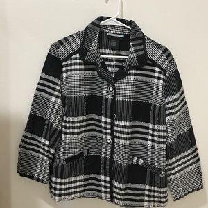 Jackets & Blazers - Plaid Blazer with Pockets