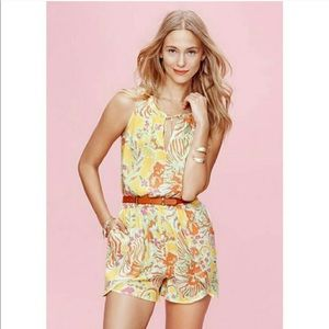 Lilly Pulitzer for Target Romper Tropical Print