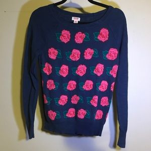 Rose Mossimo Knitted Sweater