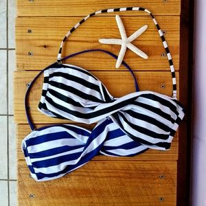 mossimo • striped kini bundle