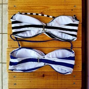 Mossimo Supply Co Swim - mossimo • striped kini bundle