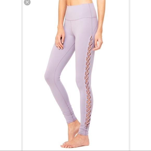 7686b9d14c ALO Yoga Pants - Alo Yoga Interlace legging in Twilight 🌟