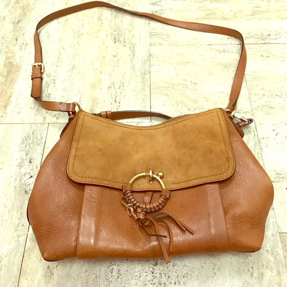 0c220d71f3645 See By Chloe Joan Medium Shoulder Bag, Caramel. M_598f0afc2fd0b761660c153d