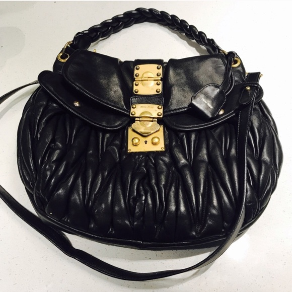 a726999f5d6a Authentic Miu Miu Matelasse Coffer Bag. M 598f0b0c78b31c27210c1e38