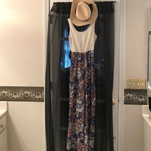 Other - Multi color jumpsuit with hat!