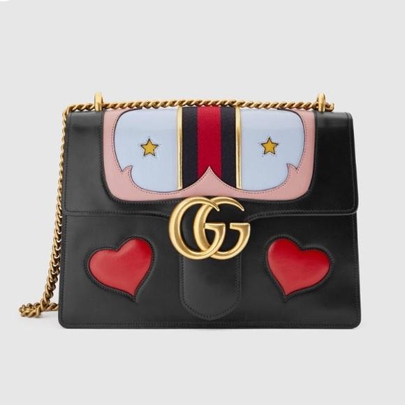 5c50a044218b Gucci Bags | Shoulder Bag Gg Marmont Hearts | Poshmark