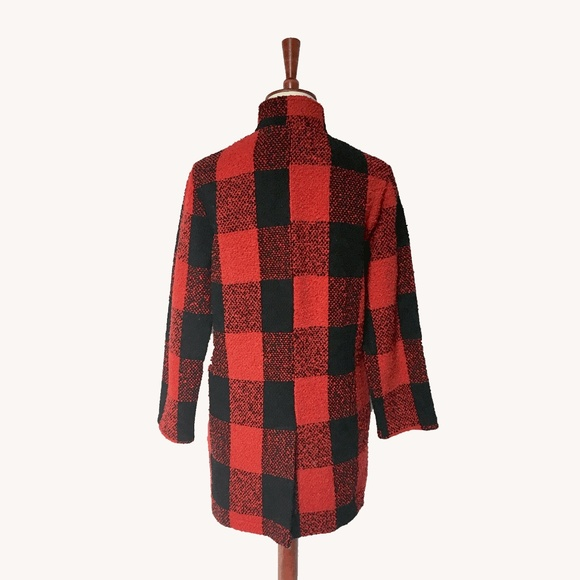 Topshop Jackets & Coats - Buffalo Plaid Jacket