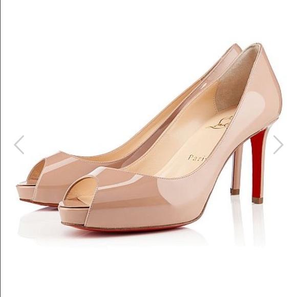 63efca4cb0b0 Christian Louboutin Shoes - Christian Louboutin No Matter patent pump
