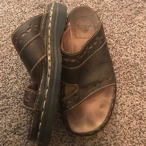 Dr Marten slide on sandals
