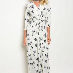 NEW Modest Maxi Dress Floral Elegant Church Woman