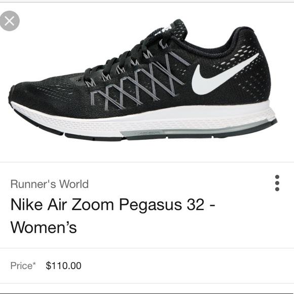 chaussures de séparation 1fe41 62add Nike Air Zoom Pegasus 32 Black size M-7.5 | W-8.5