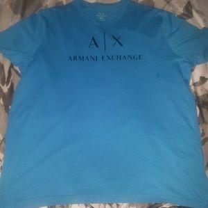 Armani  Exchange Blue Slim Fit XXL MEN S T - Shirt