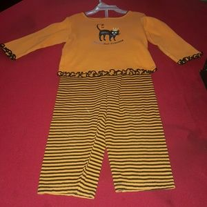 Other - cute halloween pj's size 18mos pre_owned