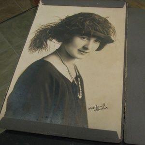 Original antique photograph in binder 1920s