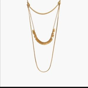 Madewell layering necklace