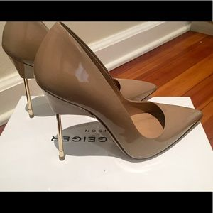 Shoes - Beige patent leather KURT GEIGER stilettos