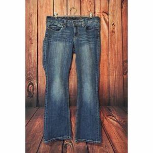 Light wash seven7 bootcut jeans