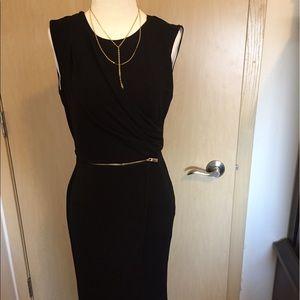 Vince Camuto Dress w/Zipper Sz 0