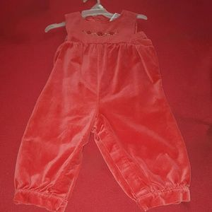 Other - cute girls velvet holiday jumper I size 12mos pre_
