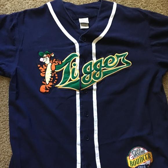 Disney Tops - 💫Disney Tigger Baseball Jersey 1a1e5acfe4a