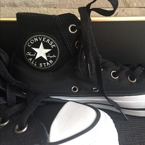 Converse Shoes | Black High Top