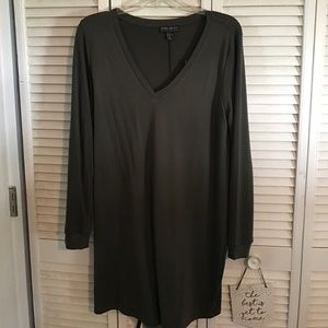 Forever 21 Plus Size Army Green Dress