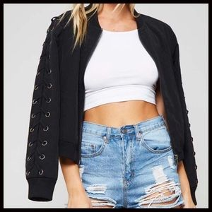 Jackets & Blazers - JUST IN 🖤 Lace up Bomber