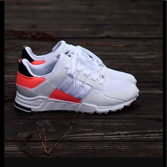 brand new 2665d 6af82 💥Adidas EQT Support RF White/Turbo Red💥 NWT