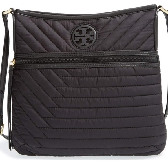 487f722f5f516 Tory Burch Quilted Nylon Swingpack