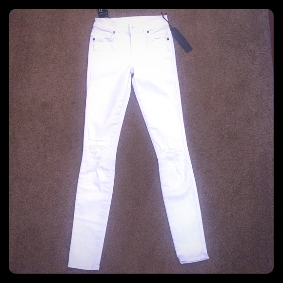 retail prices great prices first look White Ksubi jeans NWT