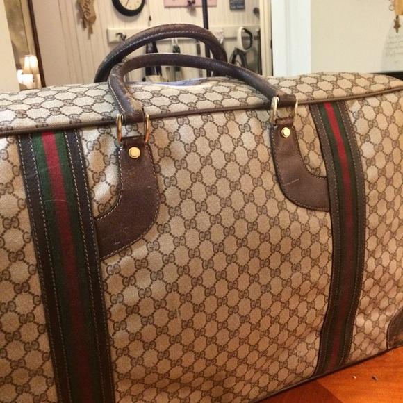 e9563d5d5 Gucci Bags | Authentic Large Vintage Suitcase | Poshmark