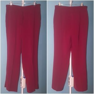 Kasper Woman Red Trouser Pant