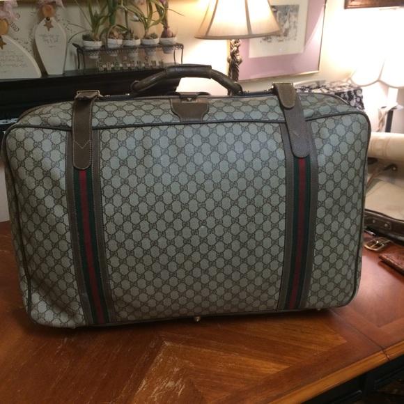 ec16b809b Gucci Bags | Authentic Vintage Suitcase | Poshmark