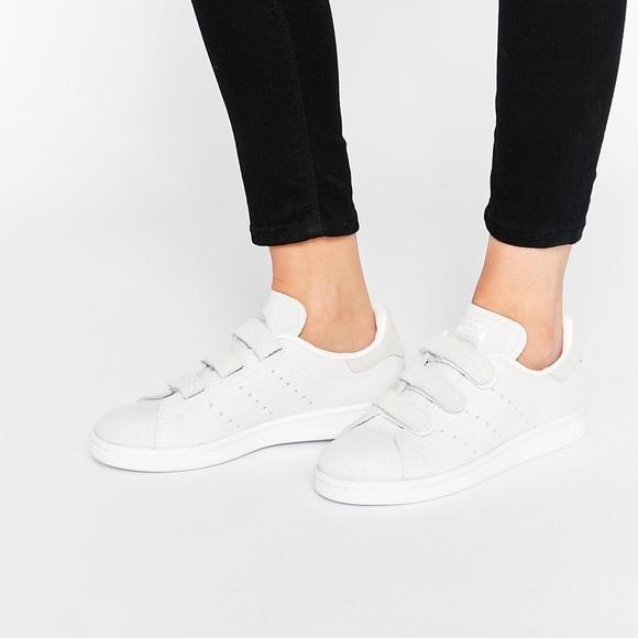 Rare Adidas Stan Smith Velcro Sneakers