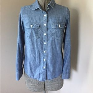 J. Crew Factory chambray shirt