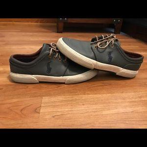 Gray Polo Ralph Lauren Shoes