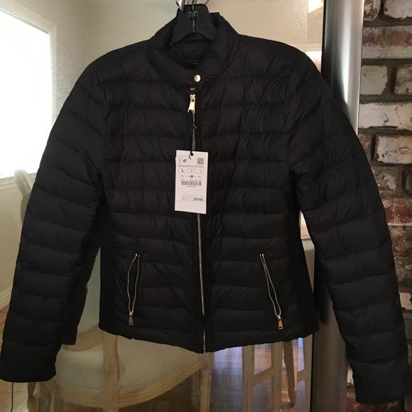 932e8ab8d NWT Zara Woman down jacket - premium down NWT