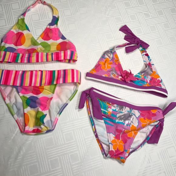 c956845820 Breaking Waves Swim   Bogo 12 Off2 Girls Kids Suits Size 7   Poshmark