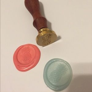 Other - Brass pineapple wax seal stamp
