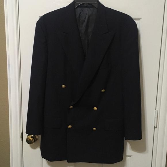 610b216e Men's Polo University Club double breasted coat 42.  M_598f8974d14d7b62da0e102b
