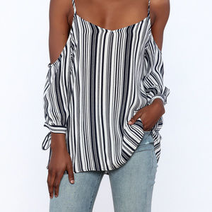NWT IRENES'S STORY, Striped Top