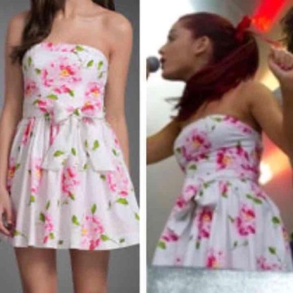 Ariana Grande Pink Dress