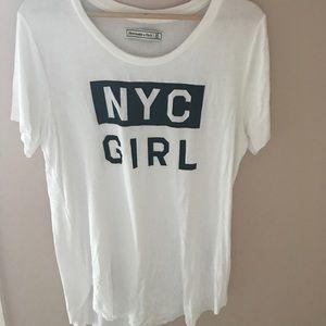 NYC GIRL tee