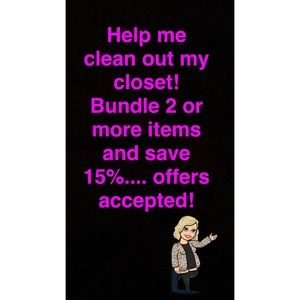 Bundle & Save! Offered Accepted! Read Description
