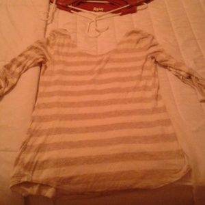 Beige shirt. Never worn.