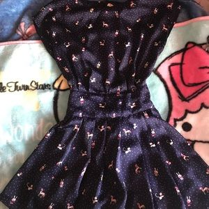 Modcloth Dresses - Kawaii unicorns and bunny print dress