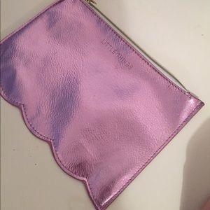 Handbags - Cute pink chrome bag