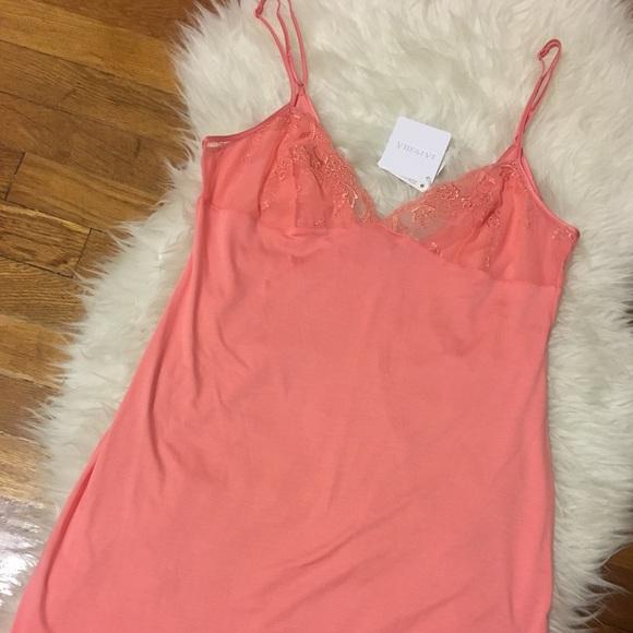 La Perla Intimates & Sleepwear - • La Perla coral babydoll nightgown size M •