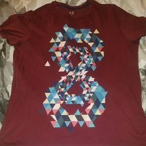 ARMANI EXCHANGE Size  XL SLIM Fits T Shirt used
