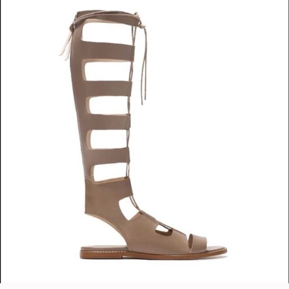 Zara Shoes - Leather Gladiator Sandals size 41 fits size 10!